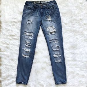 Rue 21 skinny jeans distressed size 11.